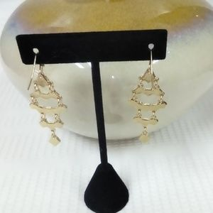 Jewelry - NWT Black Dangle Earrings